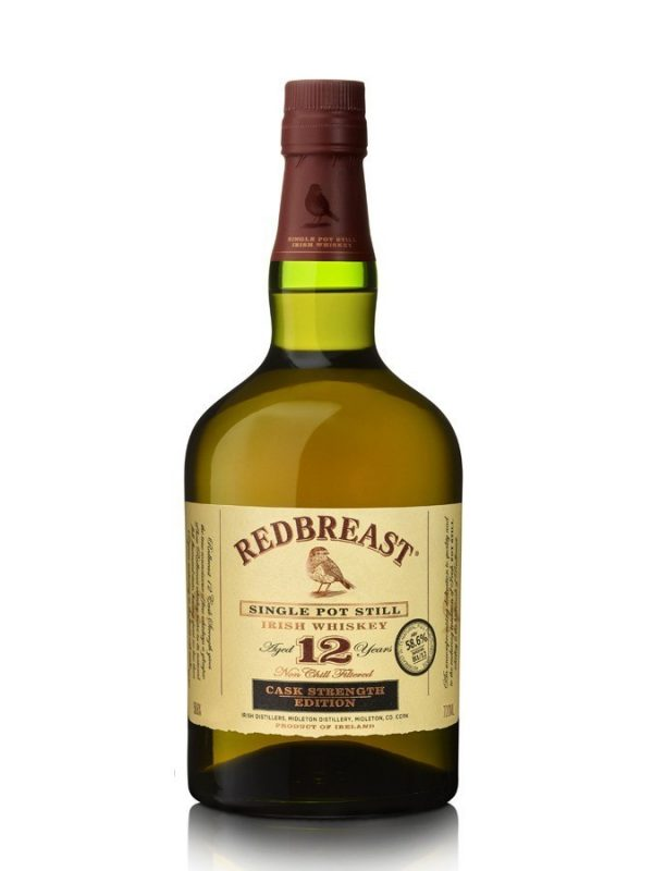 REDBREAST 12 ans Single Pot Still Cask Strength Sans Etui