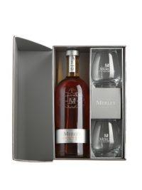 MERLET Brothers Blend Cognac Coffret 2 Verres