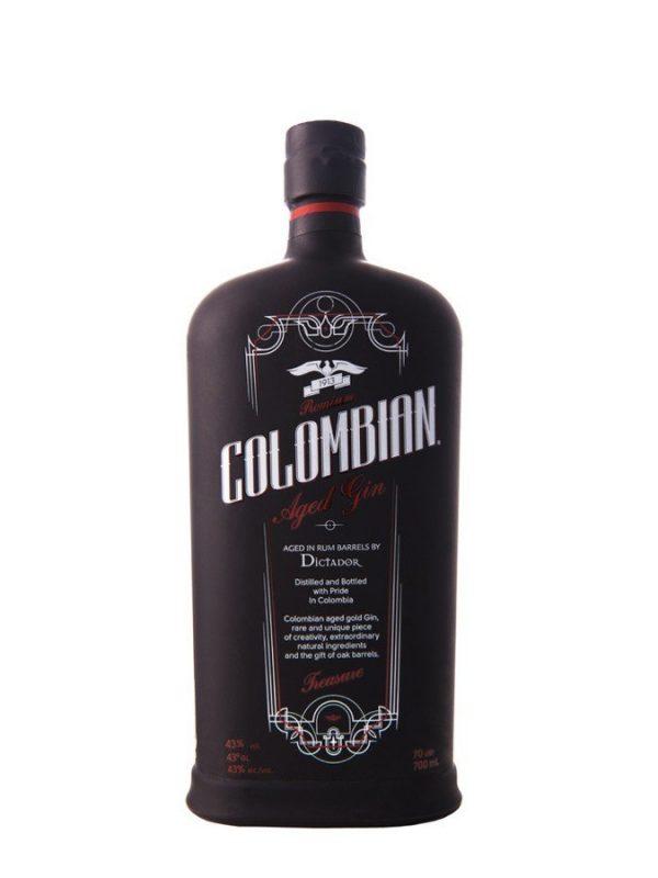 DICTADOR Premium Colombian Aged Gin Treasure