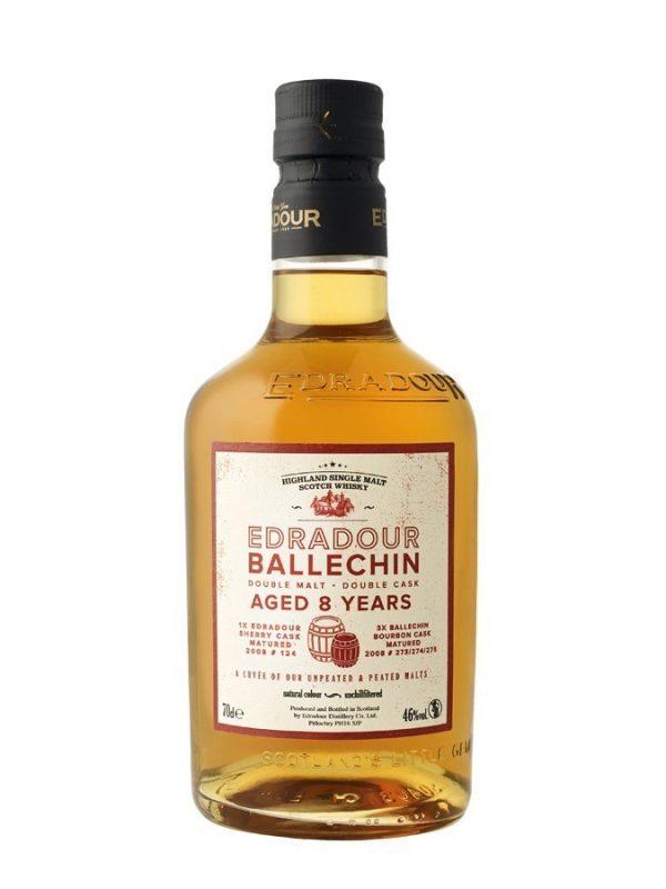 EDRADOUR BALLECHIN 8 ans Double Malt