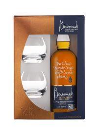 BENROMACH 10 ans Coffret 2 verres Tumblers
