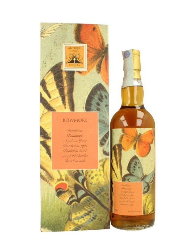 BOWMORE 25 ans 1991 Bourbon Sansibar