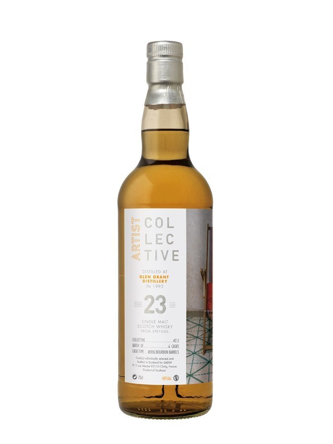 GLEN GRANT 23 ans 1995 COLLECTIVE 2.0