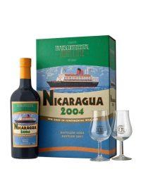 NICARAGUA 2004 Coffret 2 Verres TCRL
