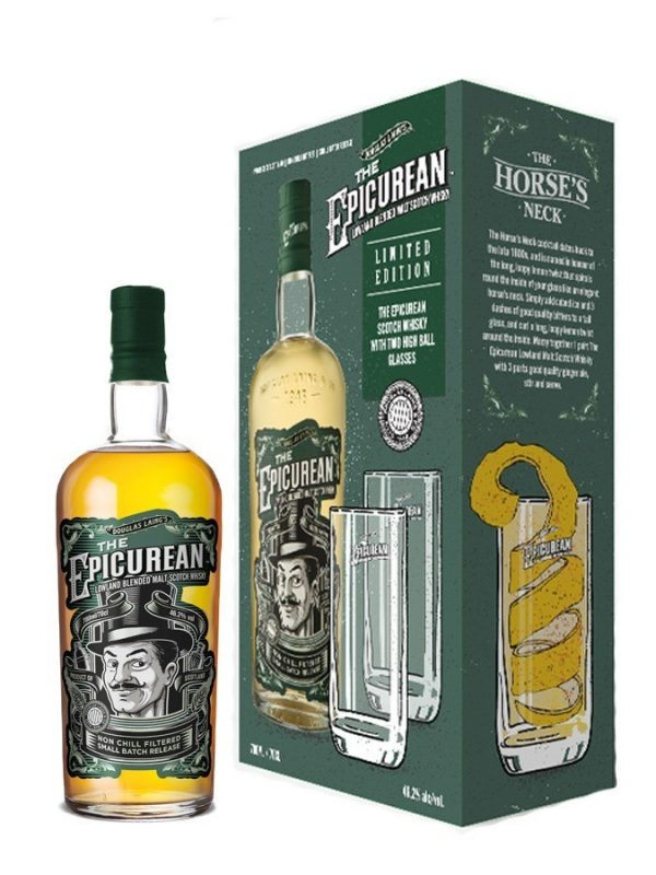 The Epicurean (gift pack with 2 glasses)