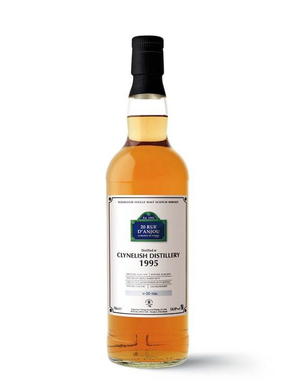 CLYNELISH 1995 Refill sherry butt 20 rue d'Anjou