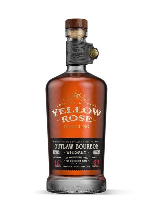 YELLOW ROSE Outlaw Bourbon Whiskey 46%