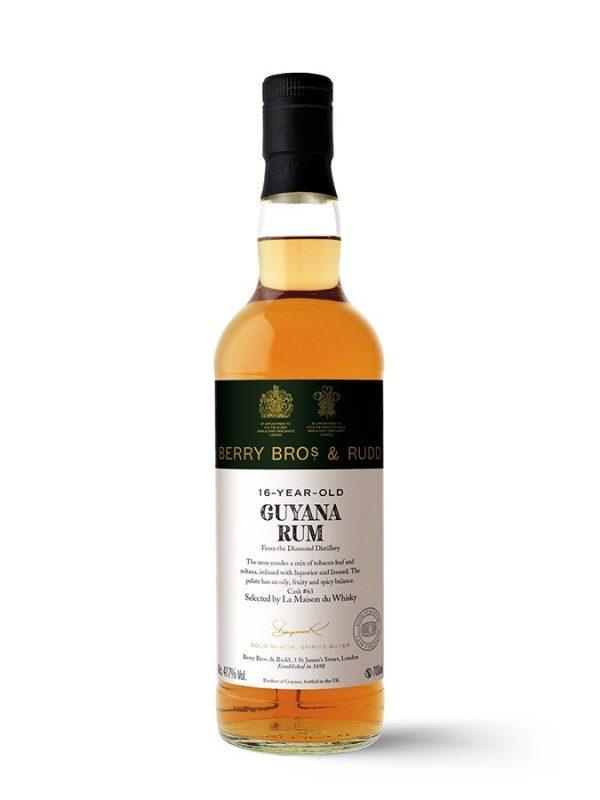 GUYANA 16 Year Old 2003 Diamond Rum