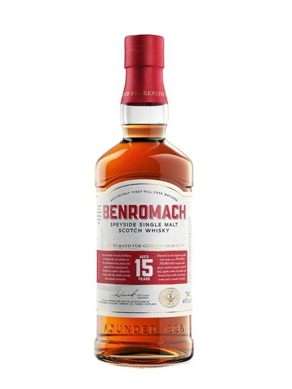 BENROMACH 15 YO 43%