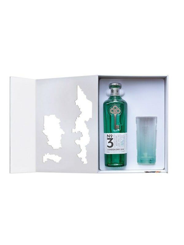 No3 London Dry Gin Coffret 1 Verre