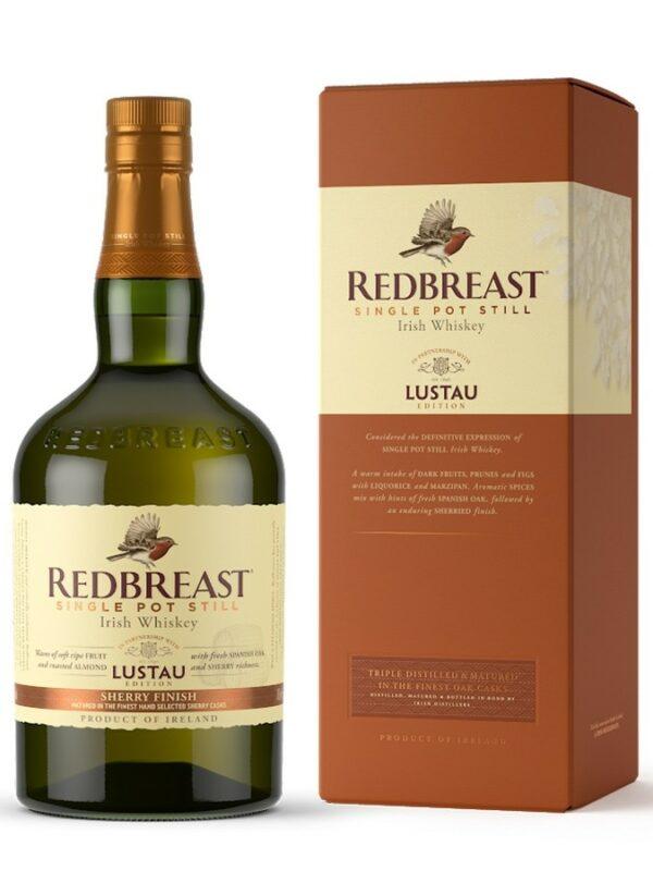 REDBREAST Lustau Sherry Finish 46%