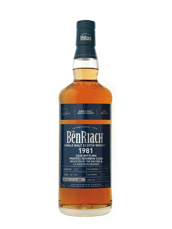 BENRIACH 38 YO 1981 Peated Bourbon Barrel 46.6%