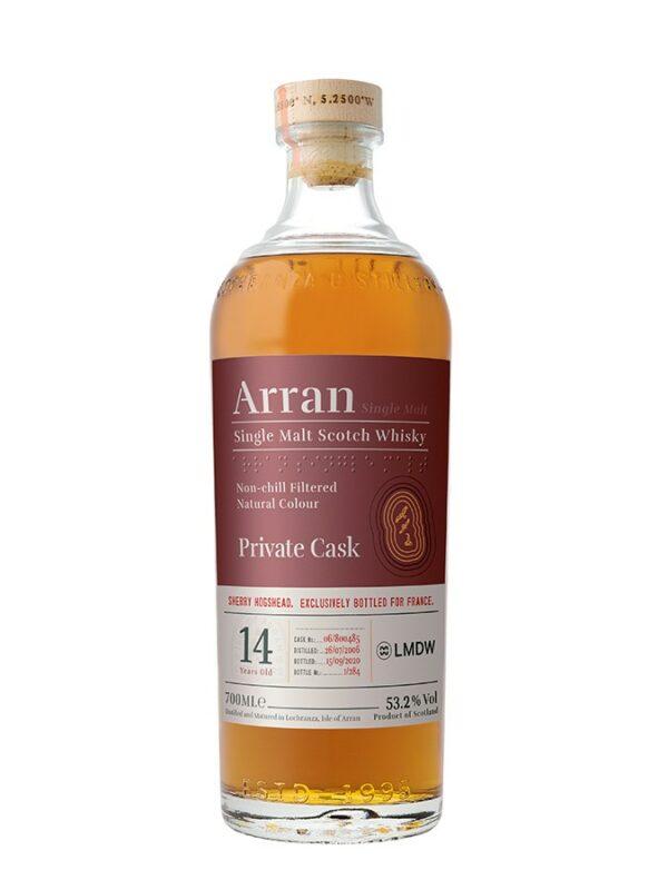 ARRAN 14 YO 2006 Sherry Hogshead Single Cask 53.5%