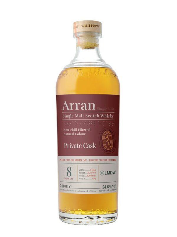 ARRAN 8 YO 2011 Peated First-Fill Bourbon Single Cask  54%