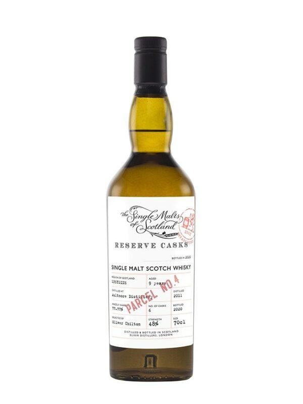 AULTMORE 9 YO Reserve Casks Parcel Elixir