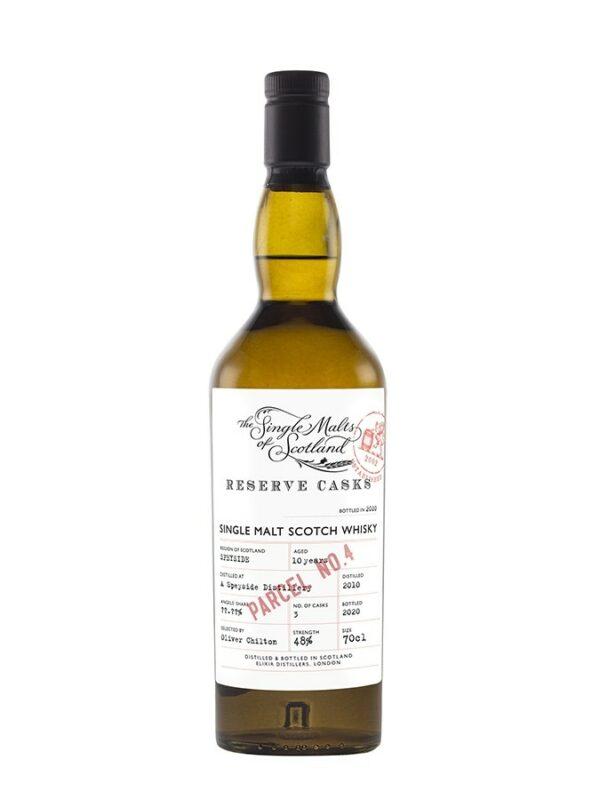 SPEYSIDE 10 YO Reserve Casks Parcel Elixir